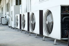 Air conditioner compressor Royalty Free Stock Images