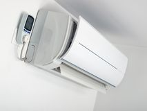 Air-conditioner consumption Royalty Free Stock Images