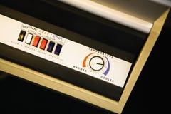 Air conditioner control panel. Stock Photos