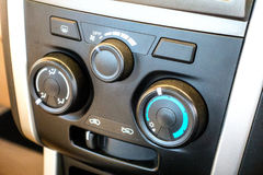 Air conditioner control switch Stock Photos