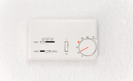 Air conditioner controller Royalty Free Stock Image