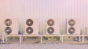 Air-conditioner fan Royalty Free Stock Photo