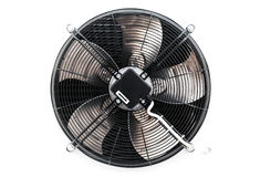 Air conditioner fan  on white Royalty Free Stock Photo
