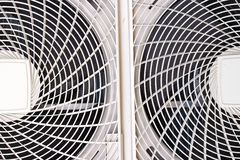Air conditioner fan Royalty Free Stock Photography