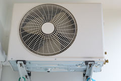 Air conditioner fan Stock Photo