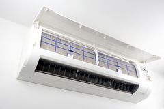 Air conditioner filter Stock Images