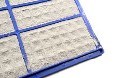 Air conditioner filter Stock Photography