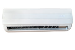 Air conditioner, front view Royalty Free Stock Photos