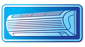Air conditioner icon Stock Photography