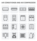 Air conditioner icon Royalty Free Stock Photos