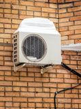Air conditioning in winter Stock Images