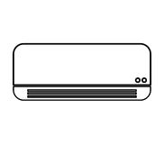 Air conditioner isolated icon Royalty Free Stock Images
