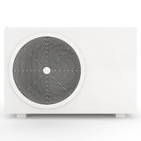 Air Conditioner isolated on white Stock Images