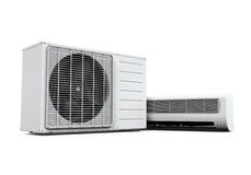 Air Conditioner Isolated Royalty Free Stock Image
