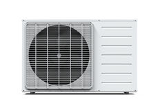 Air Conditioner Isolated Royalty Free Stock Photo