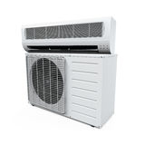 Air Conditioner Isolated Stock Photography