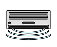 air conditioner machine design Royalty Free Stock Photography