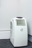 Air conditioner mobile for room Stock Photo