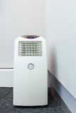 Air conditioner mobile for room Stock Photos
