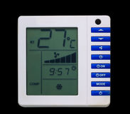 Air conditioner monitor control Stock Photography