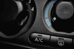 Air Conditioner On Off Switch and Button Stock Photography