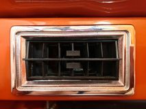 Air Conditioner outlet. In vintage car Royalty Free Stock Photography