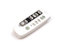 Air conditioner remote Royalty Free Stock Images
