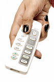 Air conditioner remote Stock Image