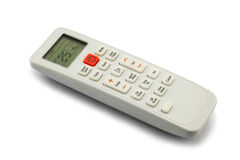 Air conditioner remote control Royalty Free Stock Image