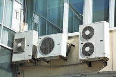 Air conditioner system Royalty Free Stock Images