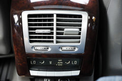 Air Conditioner Unit. In the car Stock Images