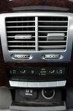 Air Conditioner Unit. In the car Royalty Free Stock Images