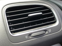 Air Conditioner Unit. In the car Stock Photography