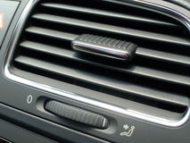 Air Conditioner Unit. In the car Royalty Free Stock Photo