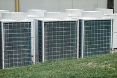 Air Conditioner Unit Stock Photo
