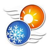 Air conditioner vector Stock Photos
