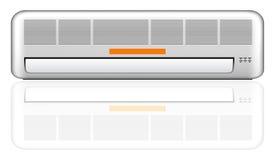 Air conditioner vector illustration. Air conditioner illustration on white vector illustration