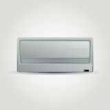 Air conditioner. Vector illustration Stock Photo