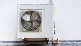 Air conditioner on wall Stock Photos
