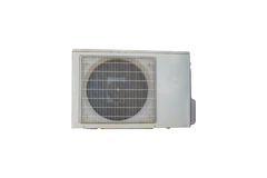 Air conditioners condenser units Royalty Free Stock Photos