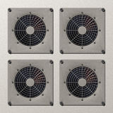 Air conditioners Royalty Free Stock Photo