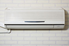 Air Conditioning. Powered on Stock Photography