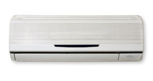 Air Conditioning. Air Condition isolated in white background. Air conditioning Royalty Free Stock Photo
