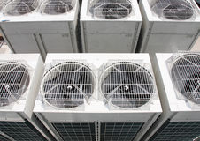 Air conditioning. Outdoor Unit of Air Conditioner stock photography