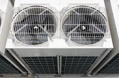 Air conditioning. Outdoor Unit of Air Conditioner Royalty Free Stock Photos