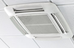 Air conditioning. An office air conditioning system stock photos