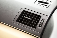 Air conditioning air outlet in car Stock Images