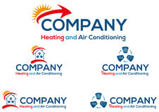 Air Conditioning Business Logo Or Icon Stock Photo
