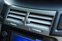 Air conditioning in car Stock Photo