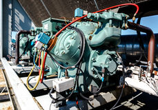 Air Conditioning Compressor Stock Photography